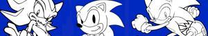 Disegni Sonic da colorare