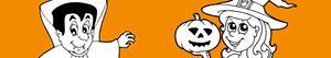 Disegni Festa di Halloween da colorare