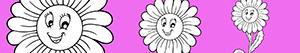 Disegni Fiore da colorare