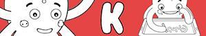 Disegni Nomi di Bambino con K da colorare
